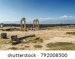 Sunny View Of Ruins Of Ancient...