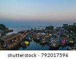 sasson dock in mumbai area.... | Shutterstock . vector #792017596