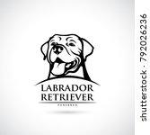 Labrador Retriever Dog   Vector ...