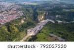 view on ngarai sianok canyon...   Shutterstock . vector #792027220