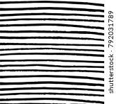 minimalist horizontal stripes... | Shutterstock .eps vector #792031789