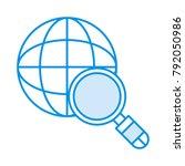 search world earth | Shutterstock .eps vector #792050986