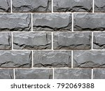 Gray Facade Facing Tiles ...