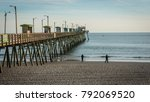 emerald isle  nc us dec 26 2017 ... | Shutterstock . vector #792069520