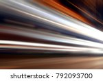 long time of light  striped... | Shutterstock . vector #792093700