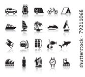 signs. tourism. travel. sports. ... | Shutterstock .eps vector #79211068
