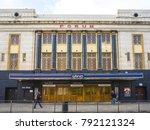 london  january  2017  exterior ...   Shutterstock . vector #792121324
