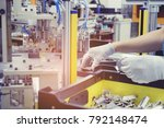 automatic part assembly machine.... | Shutterstock . vector #792148474