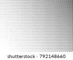 grunge halftone background.... | Shutterstock .eps vector #792148660