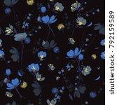 beautiful seamless pattern wind ... | Shutterstock .eps vector #792159589