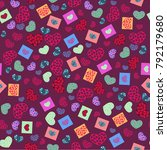 seamless pattern from...   Shutterstock .eps vector #792179680