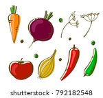 vector illustration of... | Shutterstock .eps vector #792182548