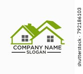building and construction logo... | Shutterstock .eps vector #792186103