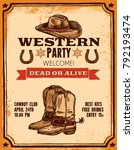 Advertising Of Western Party...