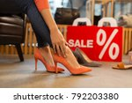 sale  shopping  fashion and... | Shutterstock . vector #792203380