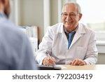 medicine  healthcare and people ... | Shutterstock . vector #792203419
