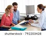 medicine  fertility and... | Shutterstock . vector #792203428
