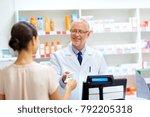 medicine  healthcare and people ... | Shutterstock . vector #792205318