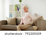 old age  health problem and...   Shutterstock . vector #792205339