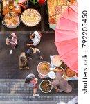 bangkok   dec 30  unidentified... | Shutterstock . vector #792205450