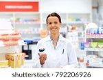 medicine  pharmaceutics ... | Shutterstock . vector #792206926