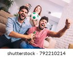 group of multi national... | Shutterstock . vector #792210214