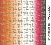 metal grid pattern for design...   Shutterstock . vector #792223324