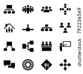 origami style icon set  ... | Shutterstock .eps vector #792236569