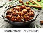 delicious and spicy non veg... | Shutterstock . vector #792240634
