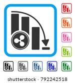 ripple falling acceleration... | Shutterstock .eps vector #792242518