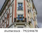 paris  france   october 06 2017 ... | Shutterstock . vector #792244678