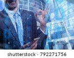 business people diverse... | Shutterstock . vector #792271756
