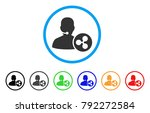 ripple receptionist rounded...   Shutterstock .eps vector #792272584