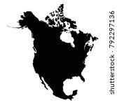 vector illustration of north... | Shutterstock .eps vector #792297136