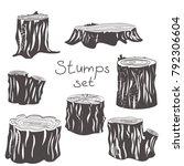 stump black and white
