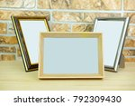 the image of a frames | Shutterstock . vector #792309430