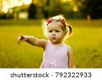 child girl love | Shutterstock . vector #792322933