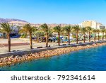 panorama of eilat  south of... | Shutterstock . vector #792341614