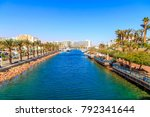 panorama of eilat  south of... | Shutterstock . vector #792341644