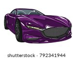 vector car . transparent on...