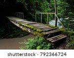 Wood Bridge Through The Agva...