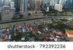kuala lumpur  circa january...   Shutterstock . vector #792392236