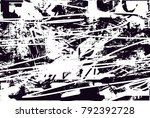 abstract grungy black and white ... | Shutterstock .eps vector #792392728