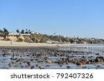 beach surf at dana point  ca ... | Shutterstock . vector #792407326