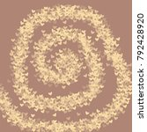 heart brown vector which... | Shutterstock .eps vector #792428920