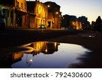 defocused urban abstract... | Shutterstock . vector #792430600