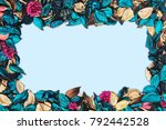 beautiful and colorful... | Shutterstock . vector #792442528