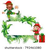 border template with christmas...