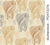 seamless pattern  texture  with ... | Shutterstock .eps vector #792472276