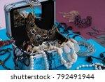 Jewelery In The Casket.